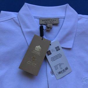 Burberry London Men Casual Cotton Polo